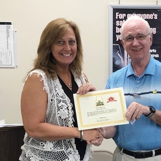 Sharon Gilreath - 5 years of service (June 2019)